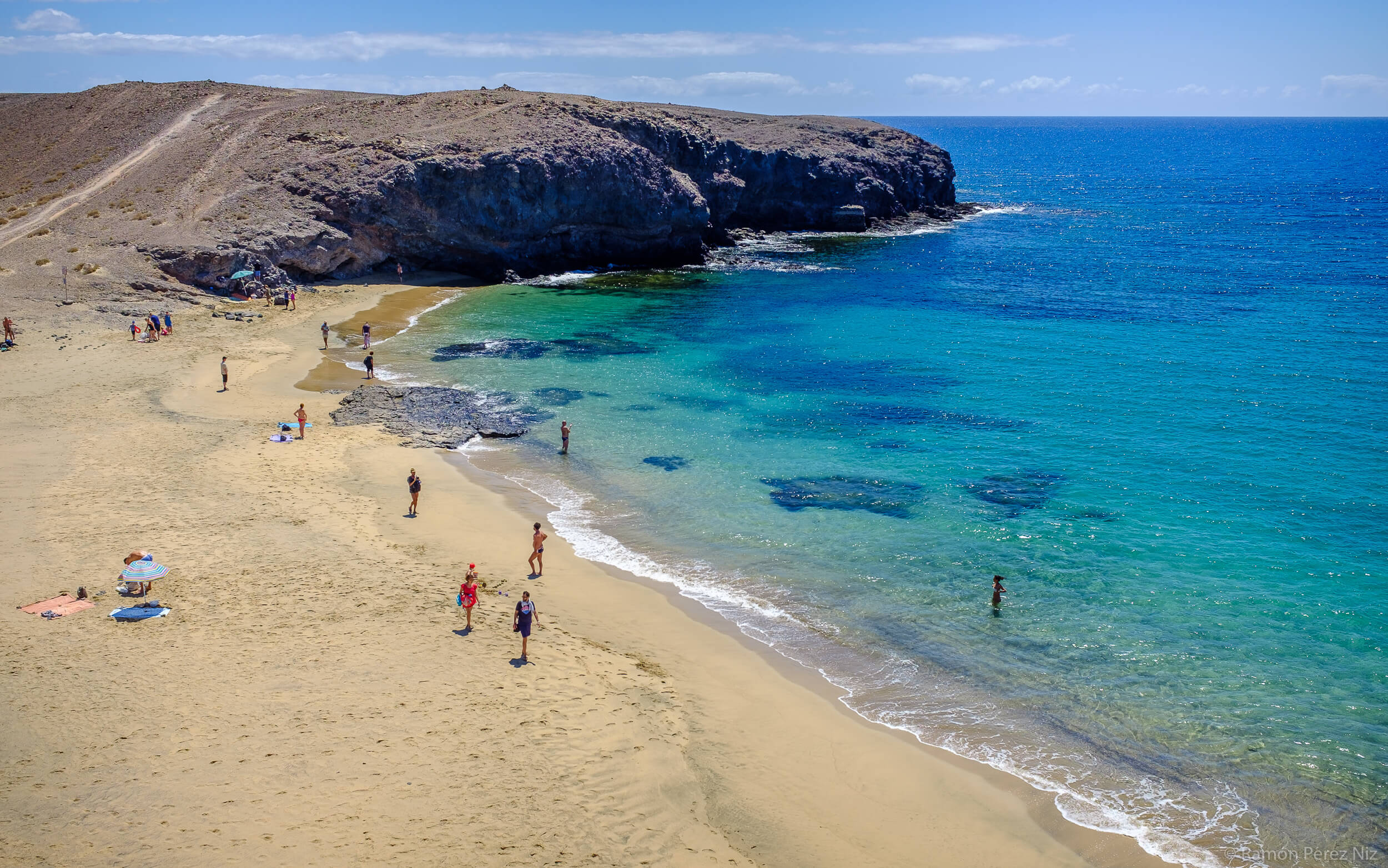 Playa Mujeres, Papagayo. Fotografía de Ramón Pérez Niz.