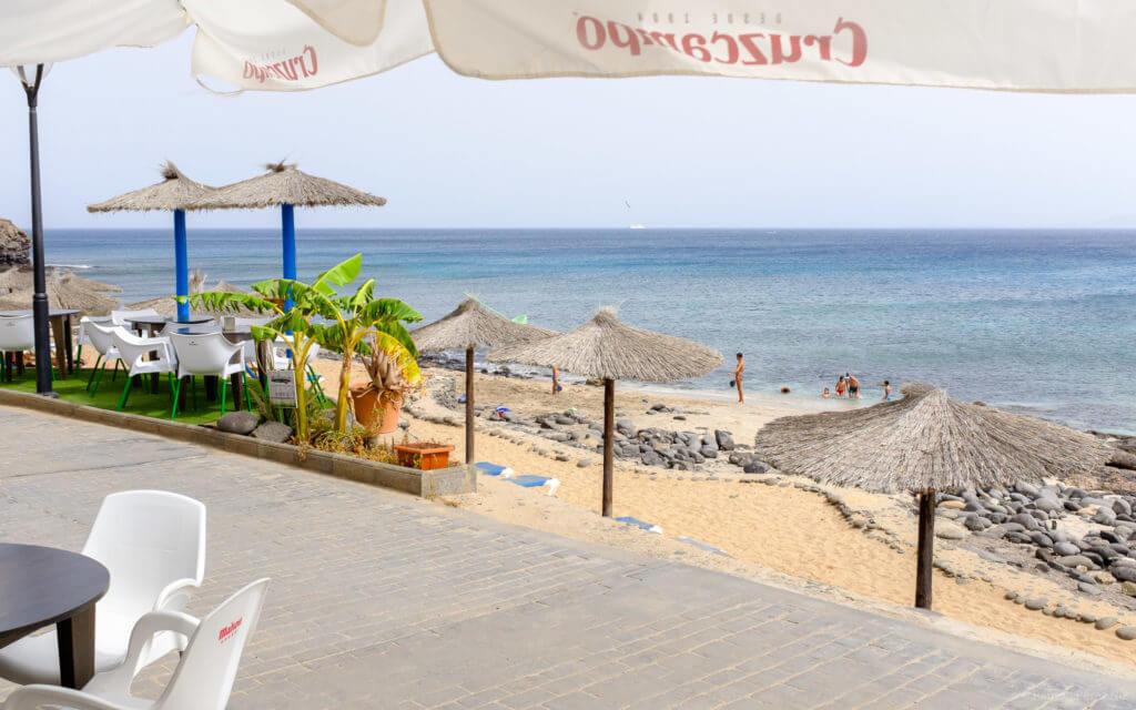 Chiringuito Tropical de Lanzarote, Playa Blanca. Fotografía de Ramón Pérez Niz.