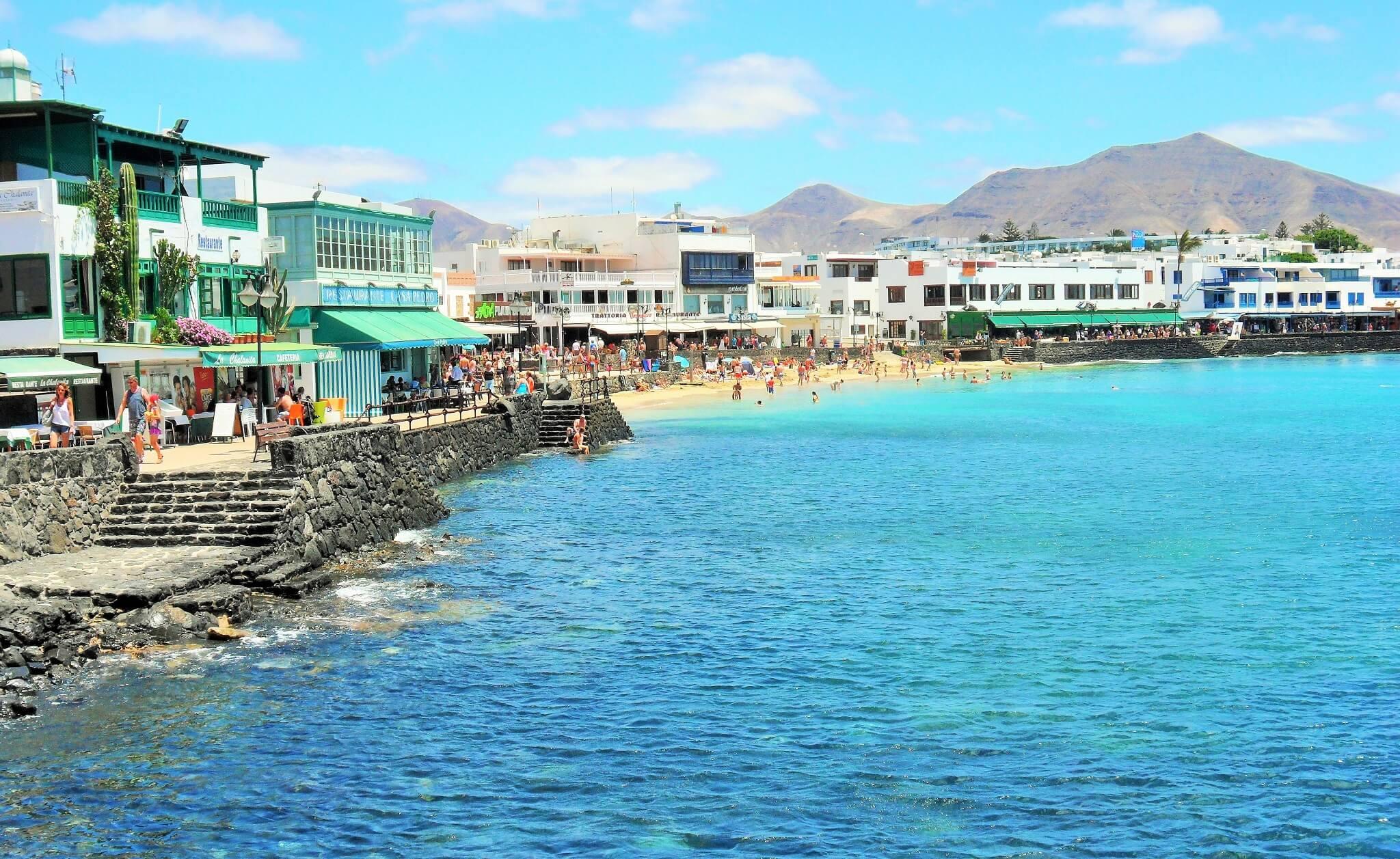 Playa Blanca, Lanzarote. Fotografía de Ramón Pérez Niz.