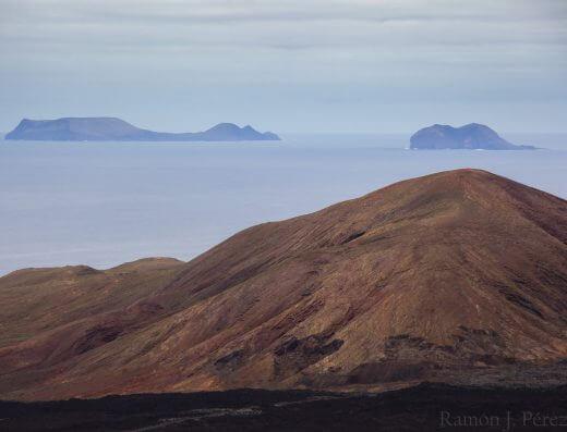 Vistas desde Caldera Blanca. Fotografía de Ramón Pérez Niz.
