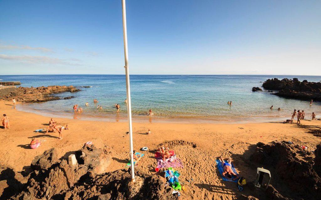 Playa del Hotel Mejores Playas de Puerto del Carmen Fotografía Ramón Pérez Niz