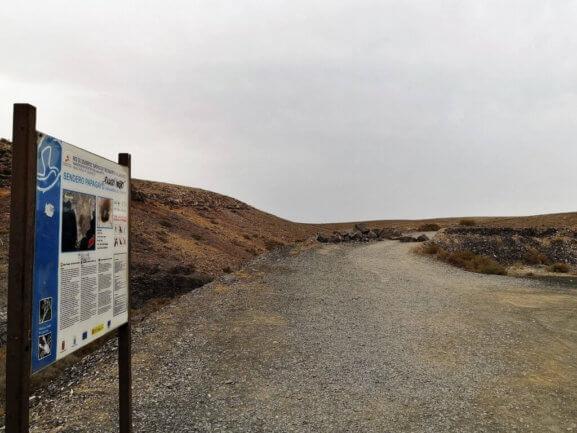 Inicio Sendero Papagayo-San Marcial del Rubicón